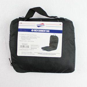 American Tourister 48 Inch Garment Bag Black NEW
